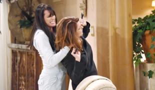 Beautiful, le anticipazioni del 19 aprile: rissa fra Sheila e Quinn