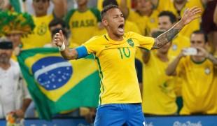 Nella gara degli ascolti il Brasile ai Mondiali batte la fiction e Giletti