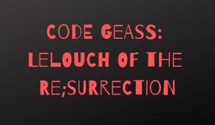 """Code Geass, parla il produttore: """"Dopo Re;surrection progetti per altri 10 anni"""""""