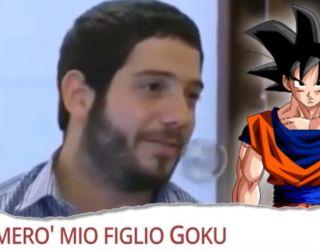 Chiamerò mio figlio Goku
