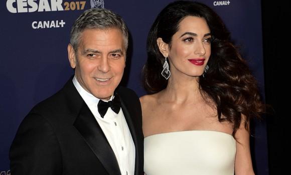 George Clooney e Amal aiuteranno 3.000 bambini siriani ad andare a scuola