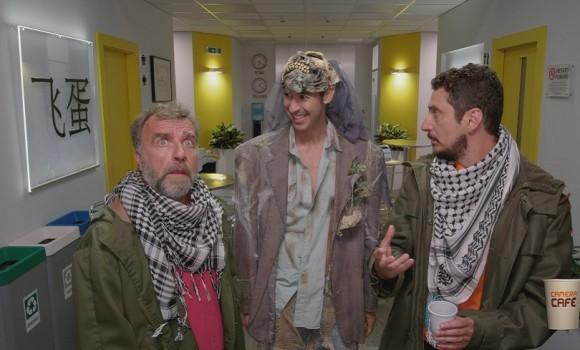 A Camera Cafè arriva anche l'attore e comico genovese Ugo Dighero. Le anticipazioni