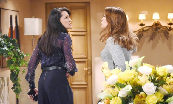 Beautiful, le anticipazioni del 20 marzo: Steffy spara a Sheila