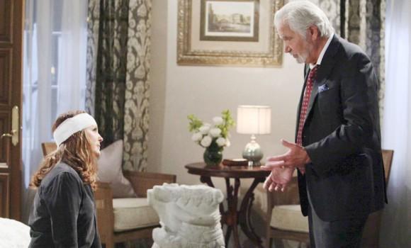 Beautiful, le anticipazioni del 10 maggio: Eric e Quinn discutono di Sheila