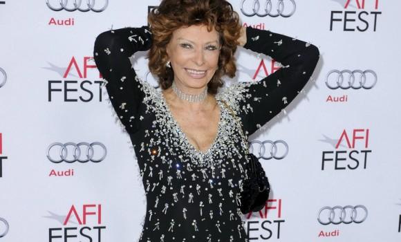 Sophia Loren ritorna al cinema per amore di suo figlio Edoardo