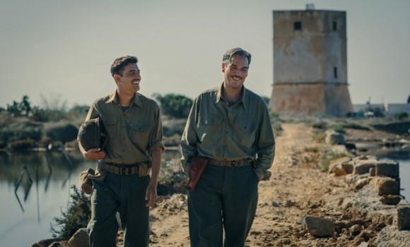 Le foto del nuovo film di Pif dal titolo In Guerra per Amore