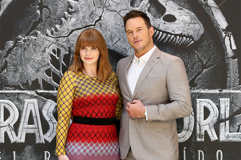 Chris Pratt e Bryce Dallas Howard