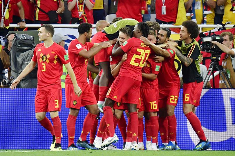 Belgio in gol
