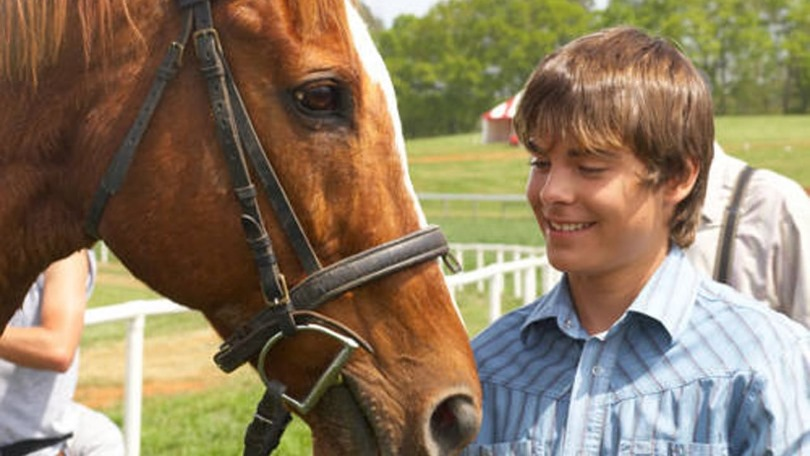 primi film zac Efron the derby stallion