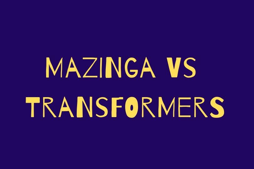 Mazinga Z vs Trasformers
