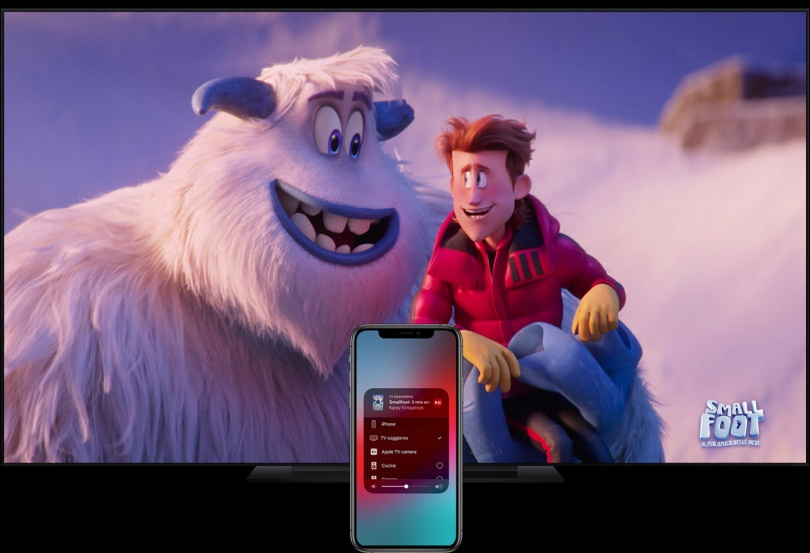 Streaming video apple Airplay