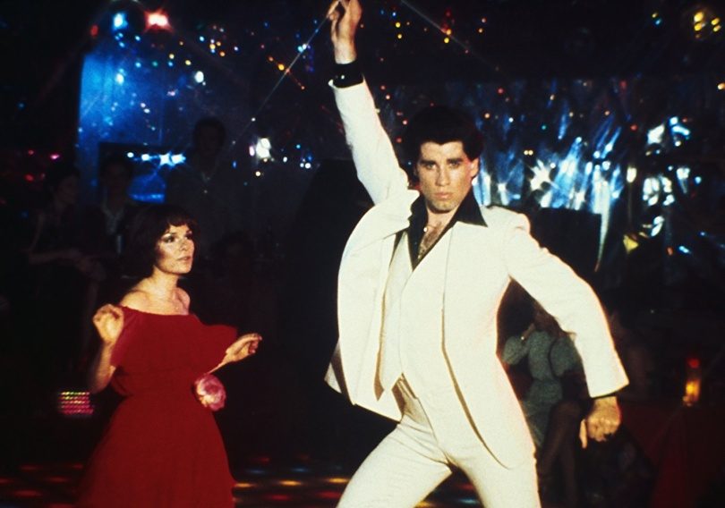 Jonh Travolta febbre del sabato sera
