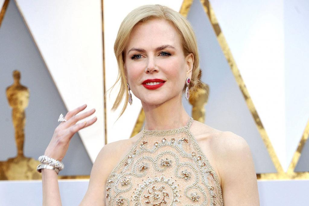 Un primo piano di Nicole Kidman