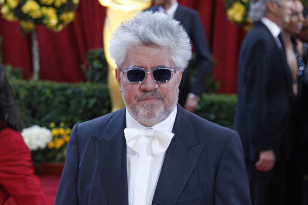 Pedro Almodovar sul red carpet di Cannes