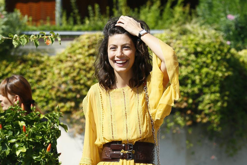 Una foto di Alessandra Mastronardi ad un photocall