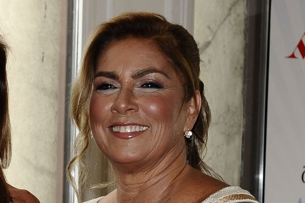 Un primo piano di Romina Power