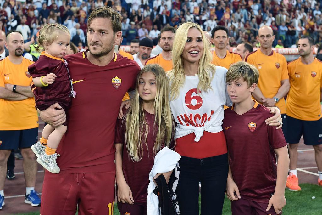 Ilary Blasi Francesco Totti