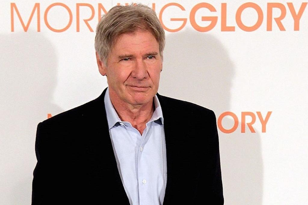 Un primo piano di Harrison Ford