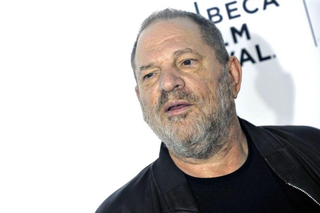 Un primo piano di Harvey Weinstein