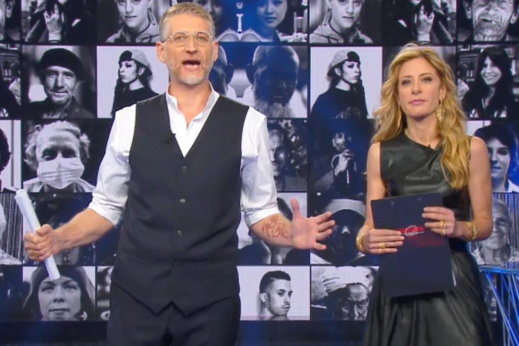 Alessandro Giuli e Francesca Fagnani, i conduttori di Seconda linea