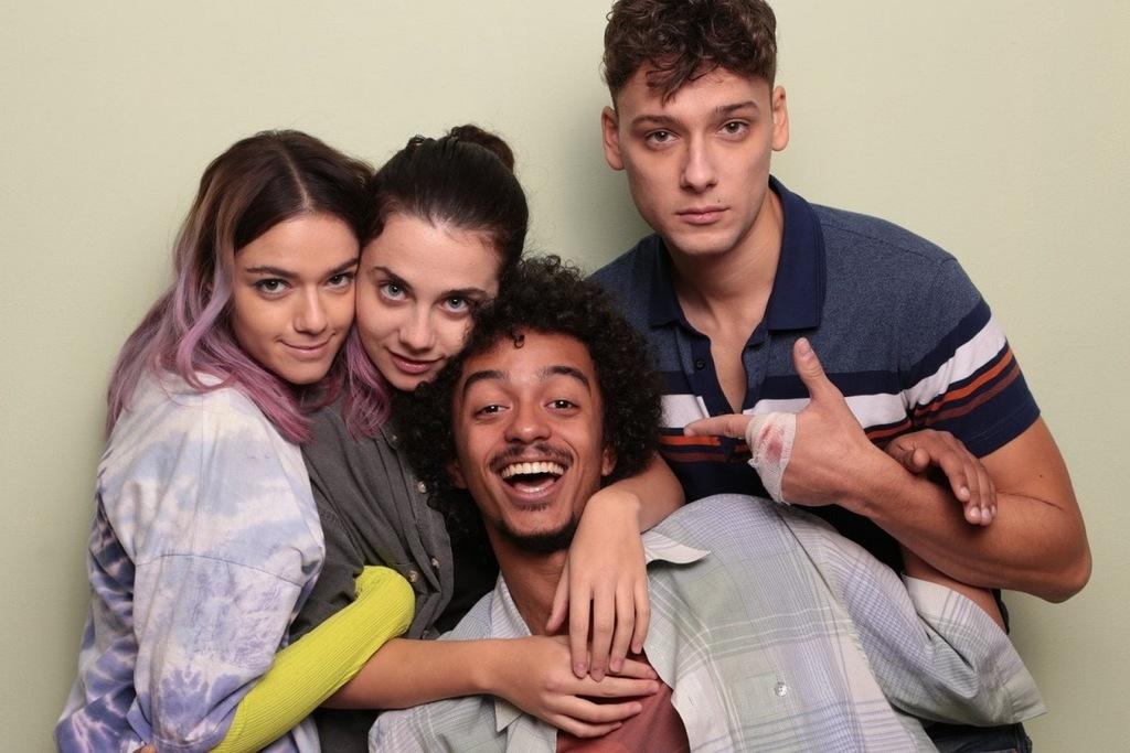 I quattro giovani protagonisti della serie tv Mental