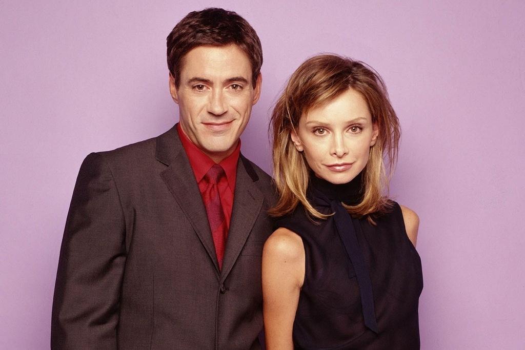 Robert Downey Jr. e Calista Flockhart in Ally McBeal