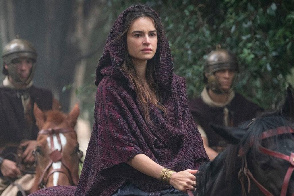 Kasia Smutniak in una scena della serie Domina