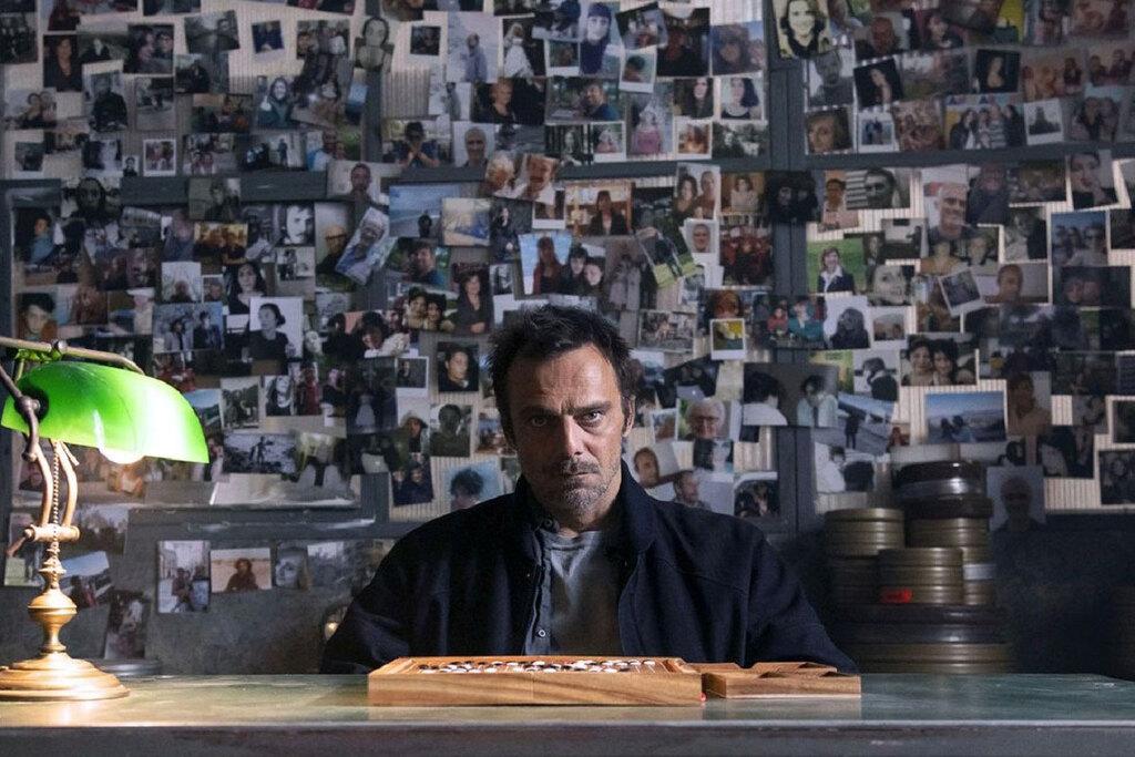 Alessandro Preziosi in una scena della serie tv Masantonio - Sezione scomparsi