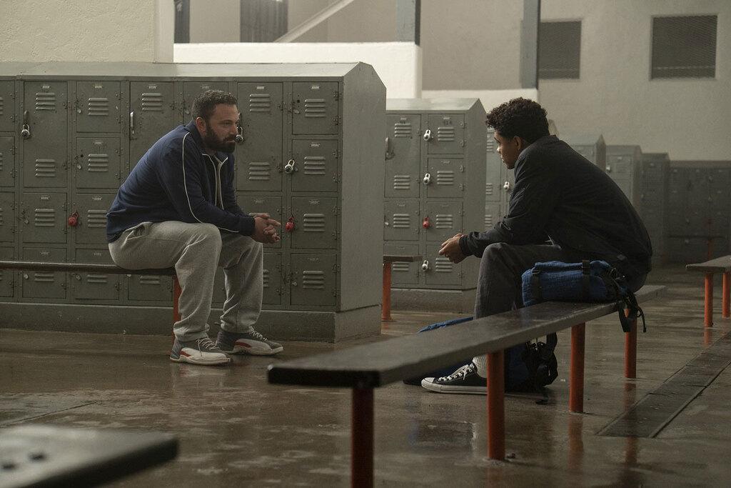 Ben Affleck e Brandon Wilson in una scena del film Tornare a vincere