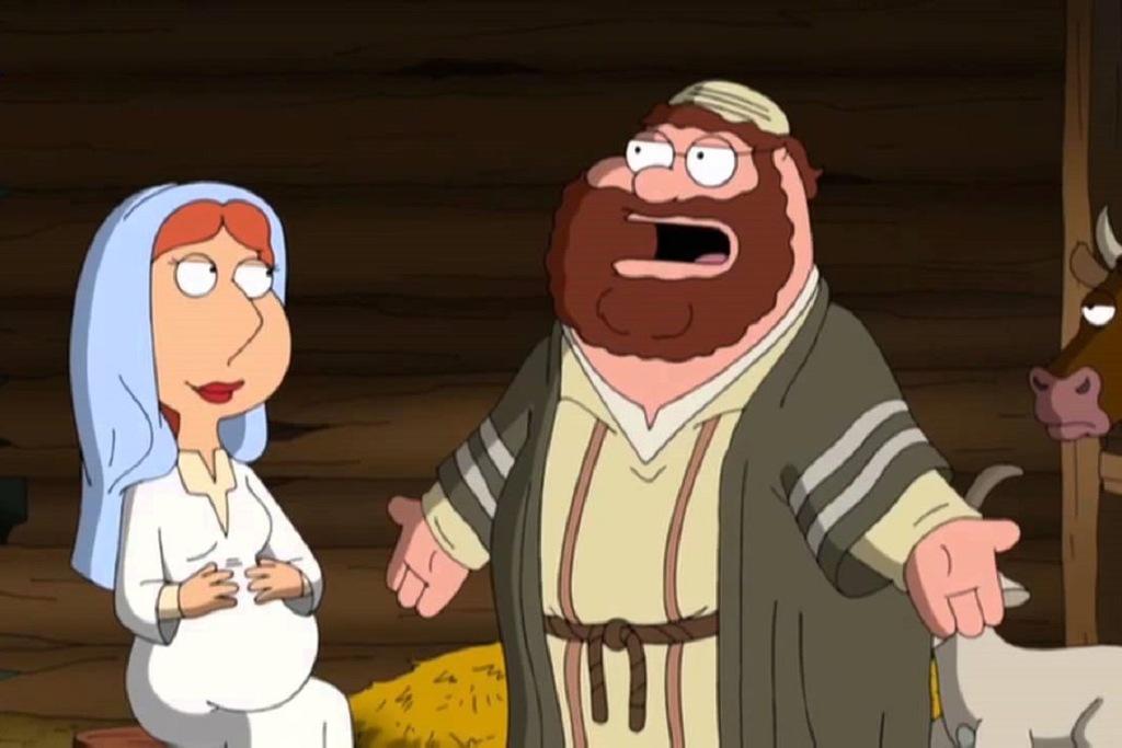 Una scena dell'episodio Gesù, Giuseppe e Maria