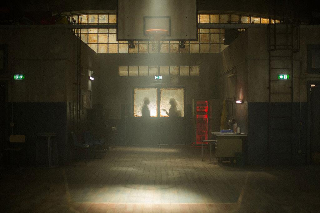 Una scena del film Educazione fisica