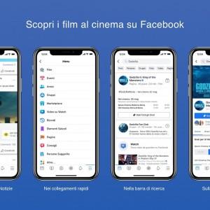 Facebook Film arriva in Italia: ecco come funziona