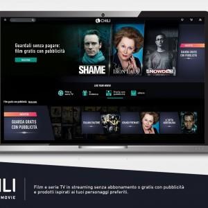 Chili lancia la sua free TV: come funziona la piattaforma streaming gratuita